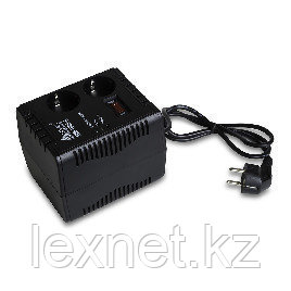 Стабилизатор (AVR), SVC, R-500, 500VА, Индикация режимов работы, Диапазон:140-260В, 1 вых., 1.2 м., Чёрный