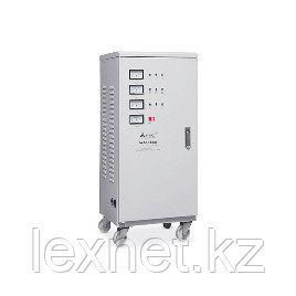 Стабилизатор, SVC, SVC-3-60000, Мощность 60кВА/48кВт, Трёхфазный, Индикация режимов работы, Диапазон работы AV
