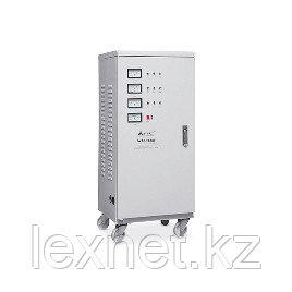 Стабилизатор, SVC, SVC-3-60000, Мощность 60кВА/48кВт, Трёхфазный, Индикация режимов работы, Диапазон работы AV, фото 2