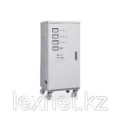 Стабилизатор, SVC, SVC-3-45000, Мощность 45кВА/36кВт, Трёхфазный, Индикация режимов работы, Диапазон работы AV