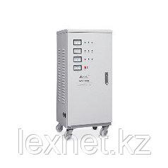 Стабилизатор, SVC, SVC-3-90000, Мощность 90кВА/72кВт, Трёхфазный, Индикация режимов работы, Диапазон работы AV
