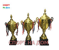 Спортивные золотые кубки набор 1,2,3 место