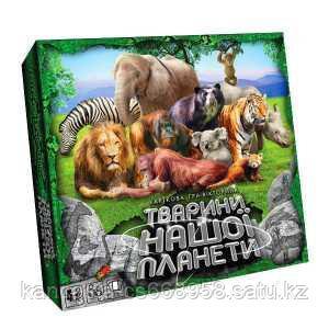 """Danco Toys Настольная игра """"Животные нашей планеты 2"""""""