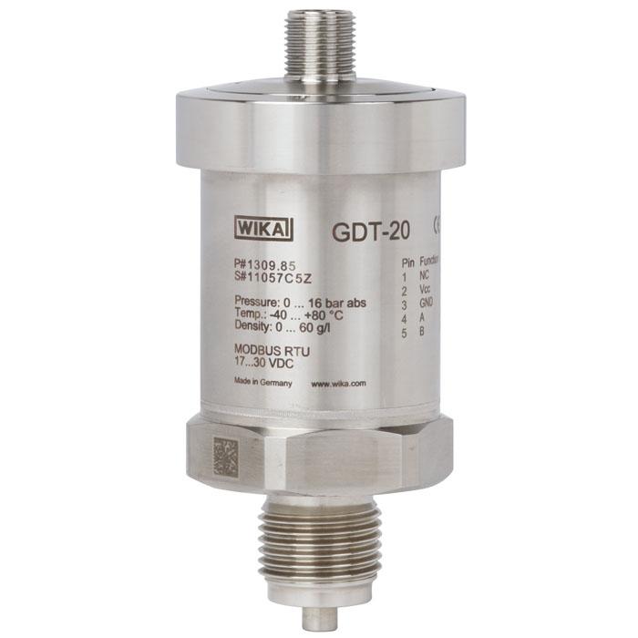 Датчик плотности, температуры и давления газа SF6, модель GDT-20 с выходом MODBUS