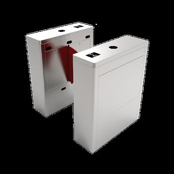 Турникет с выдвижными барьерами FBL1011 с контроллером и считывателем RFID карт