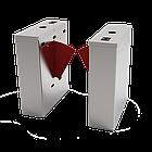 Турникет с выдвижными барьерами FBL1022 c контроллером и комбинированным биометрическим считывателем, фото 2
