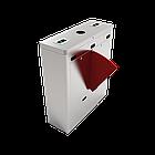 Турникет с выдвижными барьерами и двумя линиями движения FBL1211 с контроллером и считывателем RFID карт, фото 3
