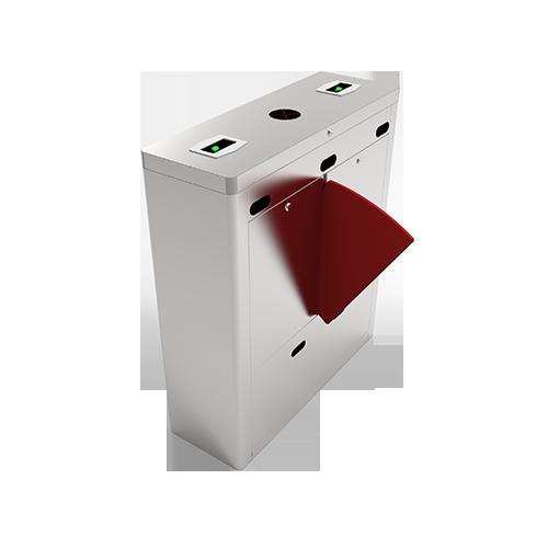 Турникет с выдвижными барьерами FBL1222 c контроллером и комбинированным биометрическим считывателем