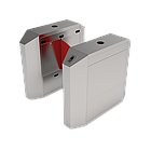 Турникет с выдвижными барьерами и одной линией движения FBL2011 с контроллером и считывателем RFID карт, фото 3