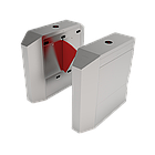 Турникет с выдвижными барьерами FBL2022 c контроллером и комбинированным биометрическим считывателем, фото 3