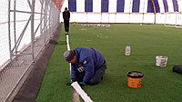 Монтаж искусственного газона, фото 1