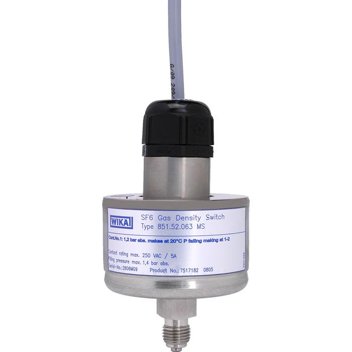 Реле плотности газа (GDS) Модель 851.52.063 MS