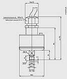 Реле плотности газа (GDS) Модель 851.52.063 MS, фото 2