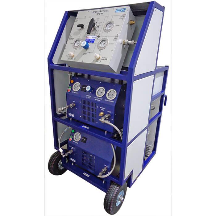 Компактная сервисная установка для элегаза для заполнения, очистки и восстановления элегаза (SF6)