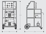 Компактная сервисная установка для элегаза для заполнения, очистки и восстановления элегаза (SF6), фото 2