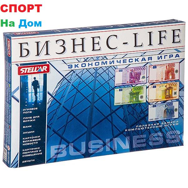 Настольная игра Монополия Бизнес-LIFE для 2-6 игроков