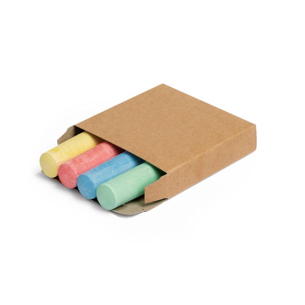 Коробочка с 4 разноцветными мелками, PARROT