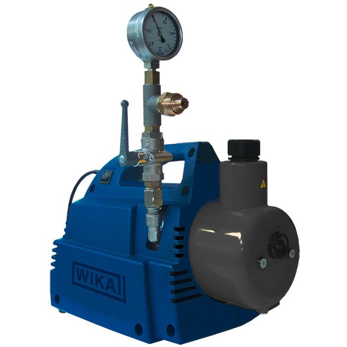 Портативный вакуумный насос для подготовки элегазовых резервуаров к заполнению элегазом SF6