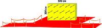 Пресс стена  тип ВИП (5м * 3 м)