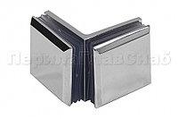 T735 Pzn коннектор для душевой кабины стекло-стекло 90° 45х45 мм полированный