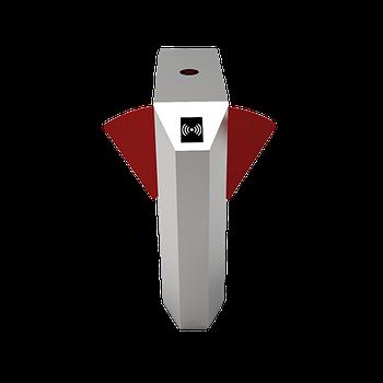 Турникет с выдвижными барьерами FBL2211 с контроллером и считывателем RFID карт