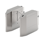 Турникет с выдвижными барьерами и одной линией движения FBL4011 с контроллером и считывателем RFID карт, фото 2