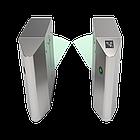 Турникет с выдвижными барьерами FBL4022 c контроллером и комбинированным биометрическим считывателем, фото 3