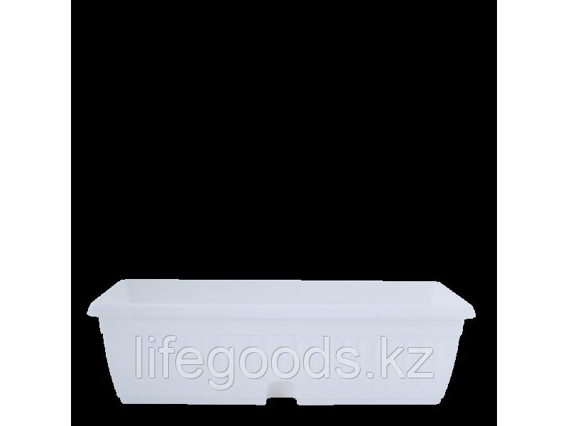 "Вазон ""Терра"" балконный МК  50*19см. (белый) 150400008"