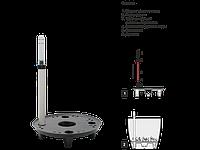 Дренаж с системой контроля полива d13,5см. (чёрный) 151103002
