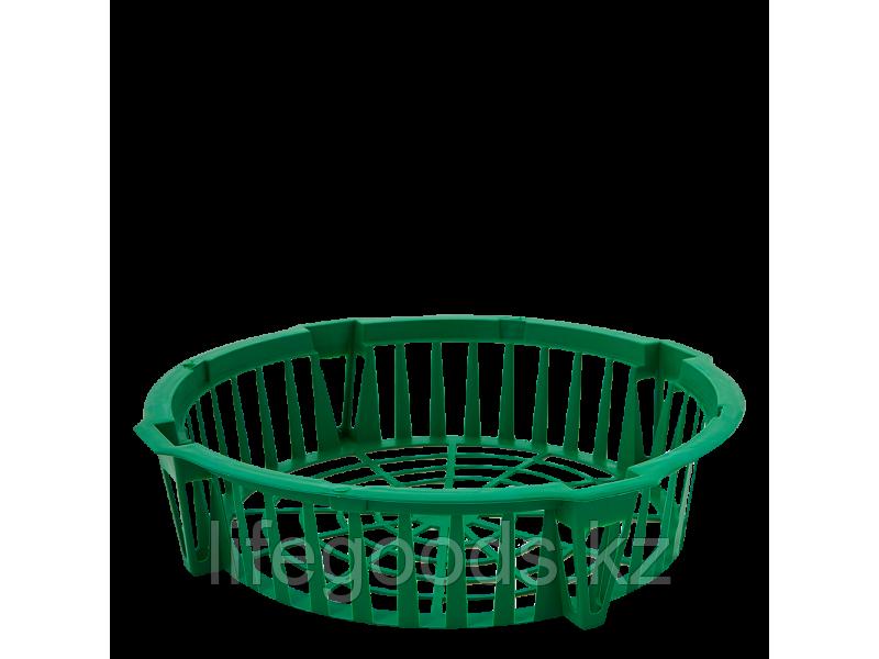 Корзина для луковичных растений круглая 285*64мм (зелёная)