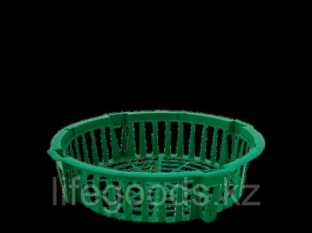 Корзина для луковичных растений круглая 285*64мм (зелёная), фото 2