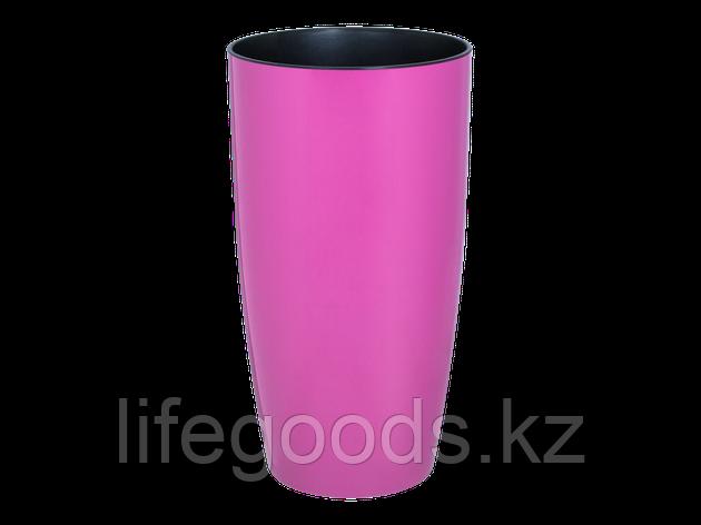 """Вазон """"Альфа"""" d22*41,5см. (т.розовый), фото 2"""