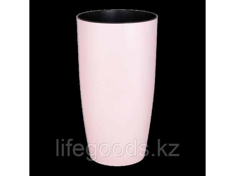 """Вазон """"Альфа"""" d27*51см. (светло-розовый) 181011024"""