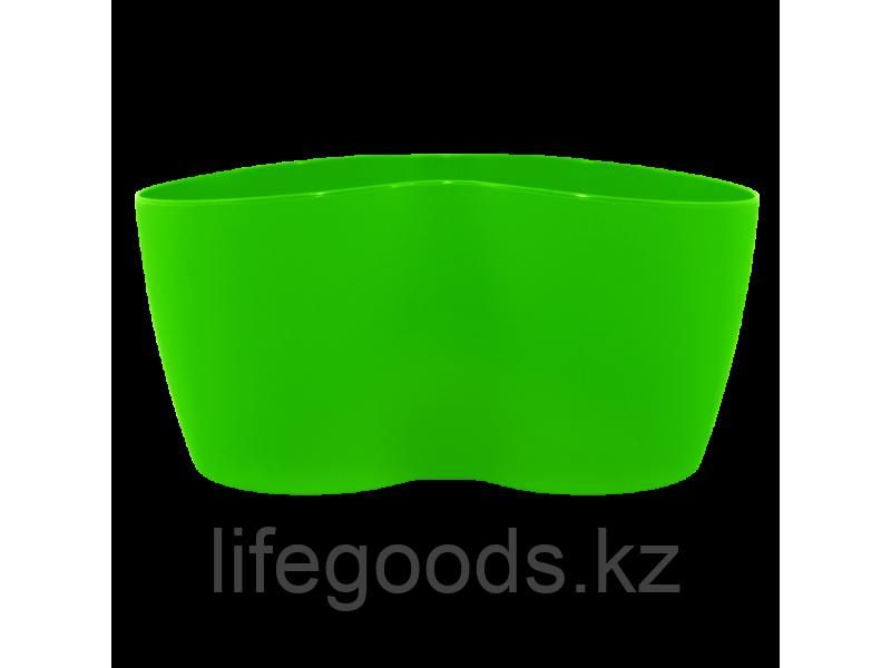 """Вазон """"Кактусник"""" на 2 растения (светло-зеленый) 110407089"""