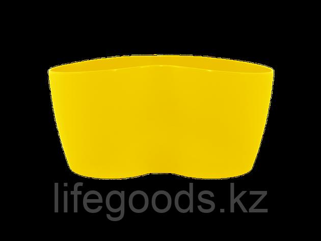 "Вазон ""Кактусник"" на 2 растения (т.жёлтый), фото 2"