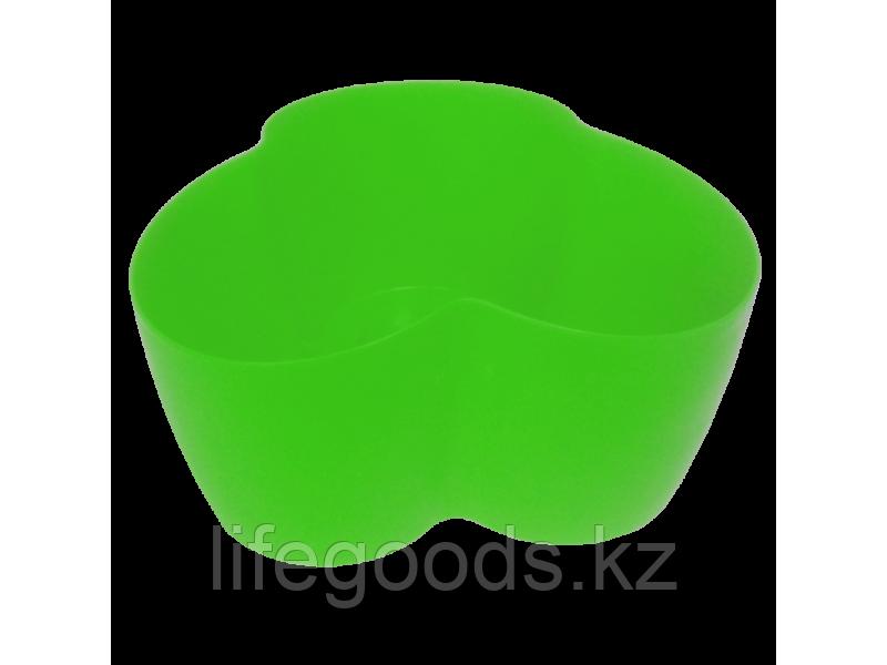 """Вазон """"Кактусник"""" на 3 растения (светло-зеленый) 110407090"""