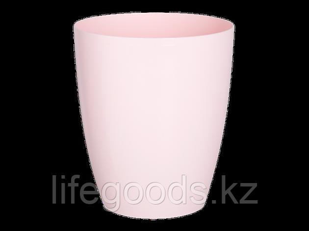 "Вазон ""Орео"" 18*21см. (светло-розовый), фото 2"