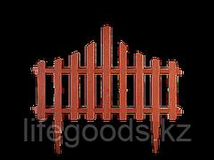 """Набор Ограждение для газона """"Заборчик"""" (терракот) 101201847"""