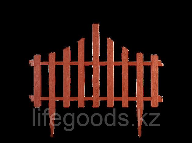 """Набор Ограждение для газона """"Заборчик"""" (терракот) 101201847, фото 2"""