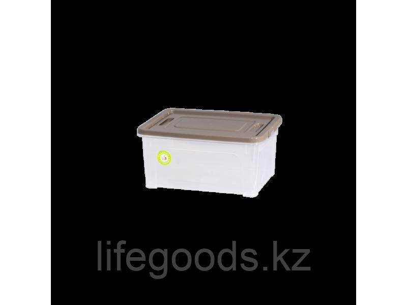 "Контейнер ""Smart Box""  0,8л. ""Practice"" (прозрачный/какао/какао) 190114025"