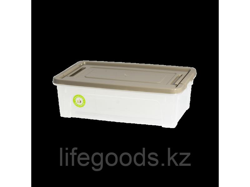 "Контейнер ""Smart Box""  1,7л. ""Practice"" (прозрачный/какао/какао) 190114021"