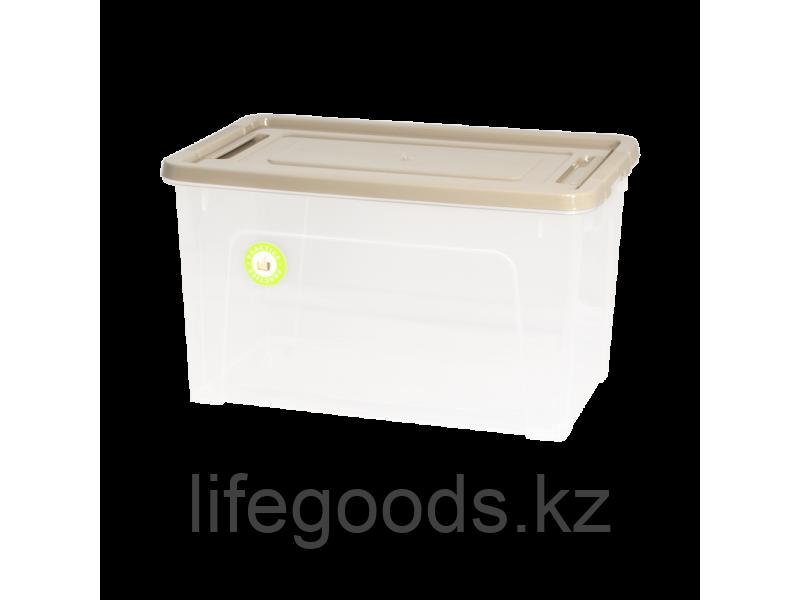 "Контейнер ""Smart Box""  3,5л. ""Practice"" (прозрачный/какао/какао) 190114027"