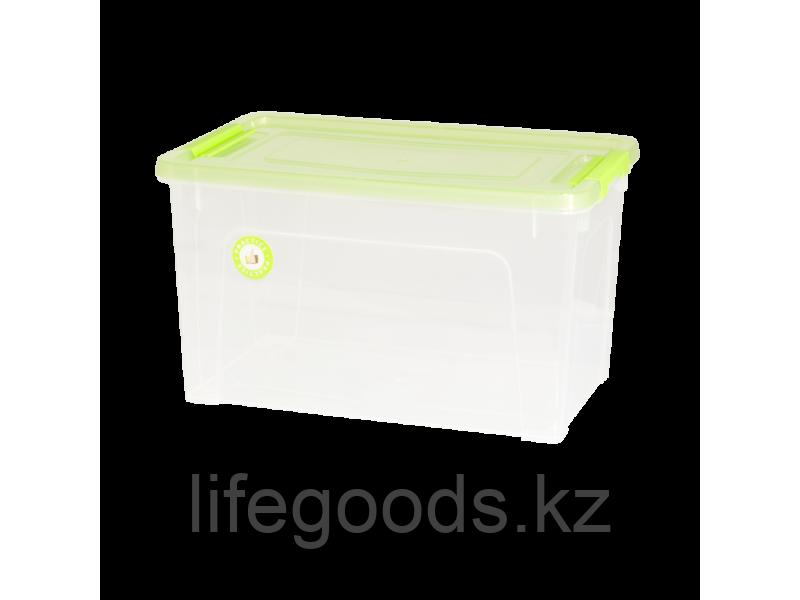 """Контейнер """"Smart Box""""  3,5л. """"Practice"""" (прозрачный/салатово-прозрачный/оливковый) 190114015"""