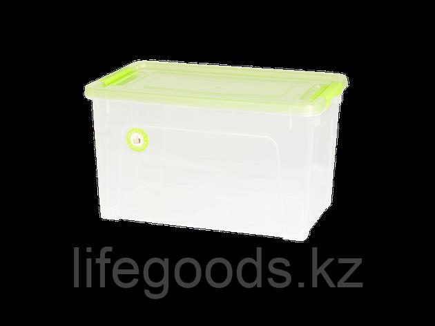 """Контейнер """"Smart Box""""  3,5л. """"Practice"""" (прозрачный/салатово-прозрачный/оливковый) 190114015, фото 2"""