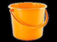 Ведро круглое 8л. (светло-оранжевый) 180727009