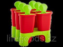 Формы для мороженого с подставкой  (красный бархат/оливковые) 140500118