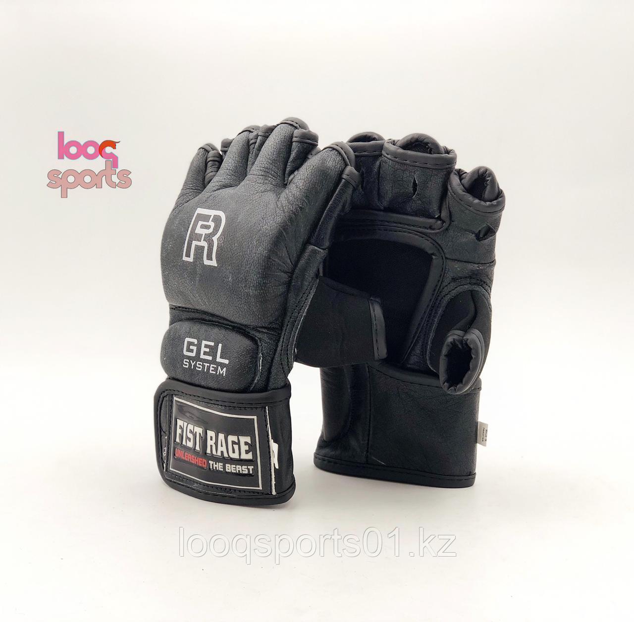 Перчатки для мма и единоборств кожа R