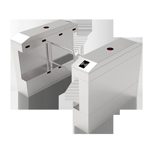 Турникет-калитка SBT2011S с контроллером и считывателем RFID карт