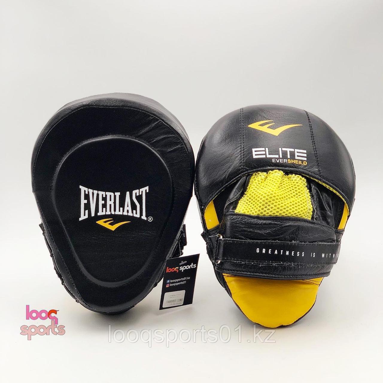 Боксерские лапы (кожа) Everlast