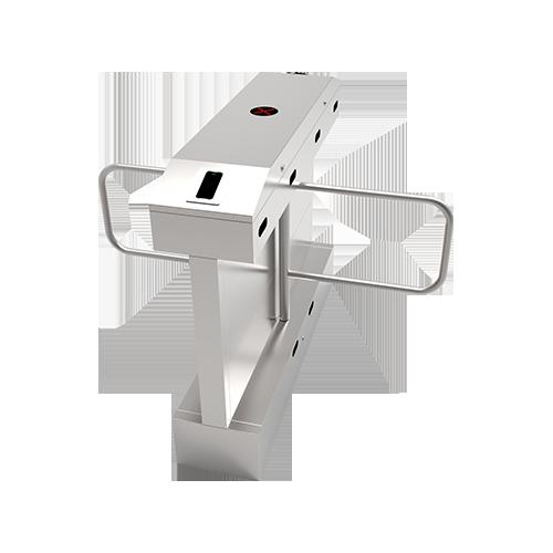 Распашной турникет-калитка SBT2222S c контроллером и комбинированным биометрическим считывателем